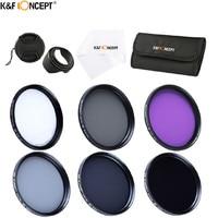 6 Slot Filter For Nikon D7100 D7000 D3000 D5000 72mm UV CPL FLD ND2 4 8
