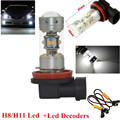 H8 H11 140 W LED DRL Niebla Lampe Phare Feux Avant Ampolla Blanc Automático para BMW E71 X6 M E70 X5 E83 X3/530i 2002 E39 serie 5