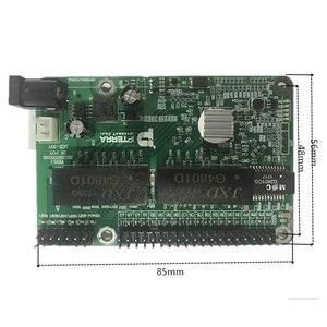 Image 5 - 5 יציאת Gigabit מתג מודול הוא בשימוש נרחב LED קו 5 יציאת 10/100/1000 m יציאות מגע מיני מתג מודול PCBA לוח האם