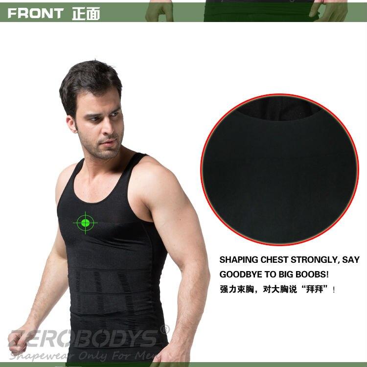 ec8617c098780 Roludom Mens Slimming Body Shaper Tummy Waist Magic Compression Muscle Tank  Top