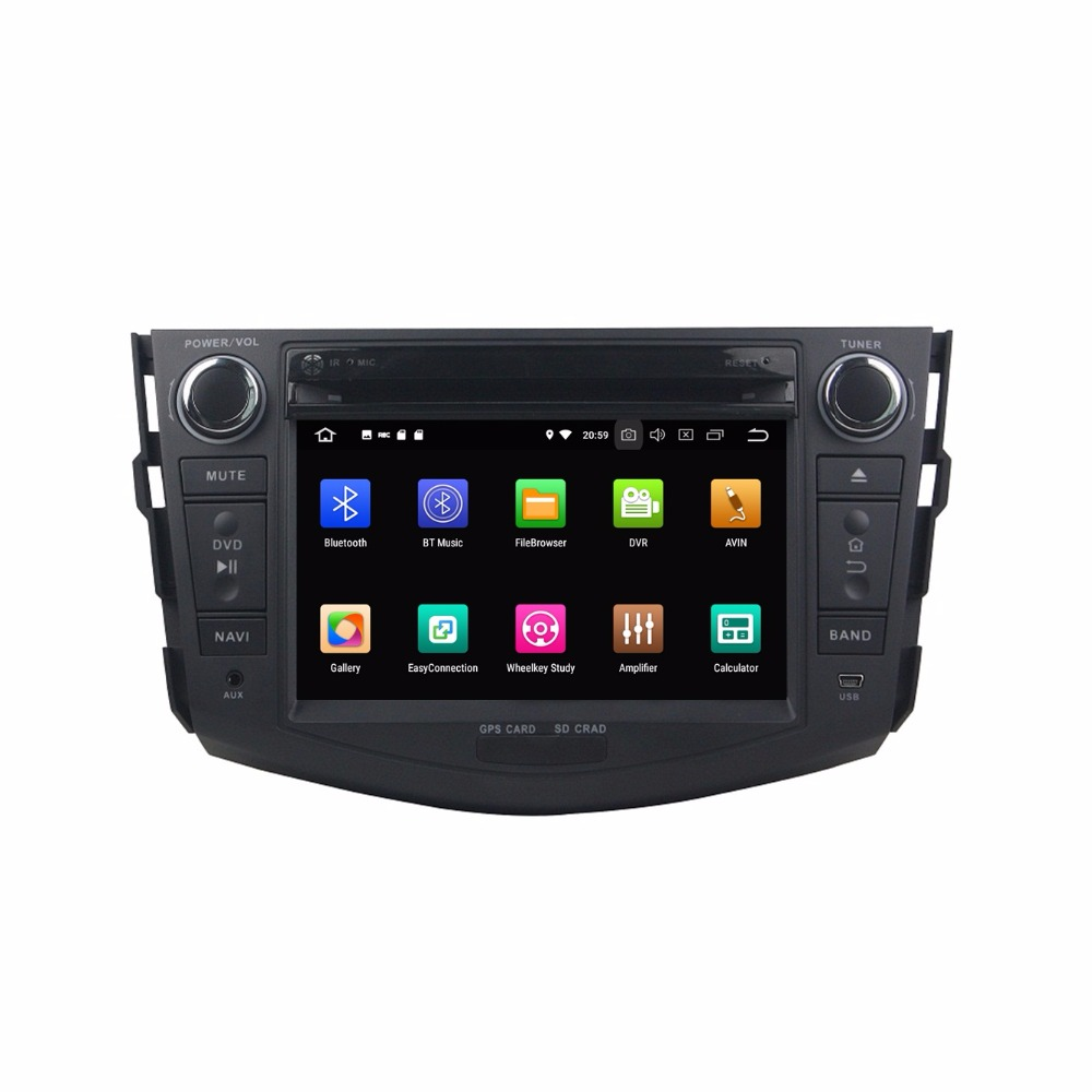 Best Octa Core 7 inch 8 core Android 9.0 Car Radio DVD player GPS for for Toyota RAV4 2006-2012  gps 4G RAM 64G ROM stereo auto audio 1