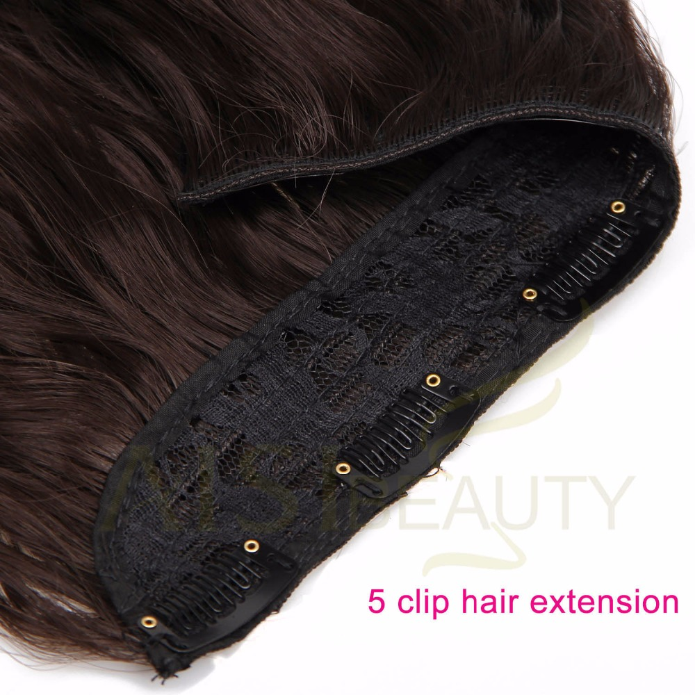 ALI shop ...  ... 32840522443 ... 5 ... AISI BEAUTY Long Clips in Hair Extension Synthetic Natural Hair Water Wave Blonde Black Brown Red 22