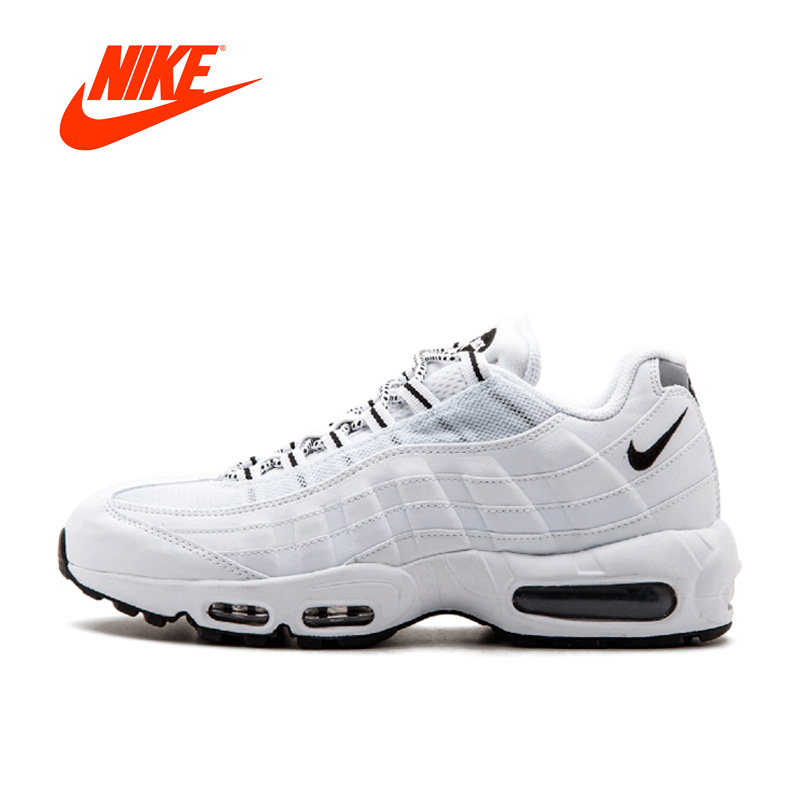 Original New Arrival Official NIKE AIR MAX 95 Men's Breathable Running Shoes Sports Sneakers platform classic Tennis shoes adidas original new arrival official neo women s knitted pants breathable elatstic waist sportswear bs4904