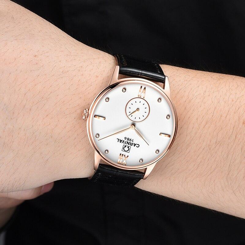 Лидер продаж Relogio masculino Новый Швейцария Карнавальная Роскошные Брендовые мужские Часы Сапфир моды Кварцевые наручные часы