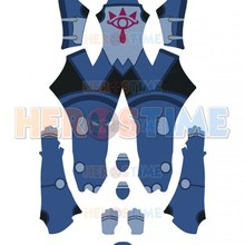 Sheikah Stealth Armor Cosplay Costume Zelda Breath Wild 3D Print Unshaded Bodysuit