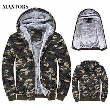 2020 겨울 남성 후드 자켓 캐주얼 스웨터 위장 남성 운동복 후드 양털 카모 따뜻한 두꺼운 Moletom Masculino
