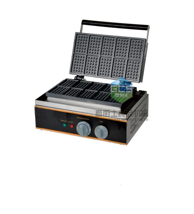 Free shipping~Electric 110v 220v 10 pcs Square waffle maker  waffle machine free shipping electric 110v 220v 10 pcs waffle maker square waffle machine