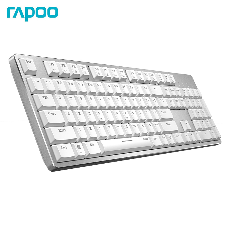Rapoo MT700 Rechargeable Multi-Model Backlit Mechanical Keyboard Smart Connects 4 Device For Apple Mac OS & Windows Dual System