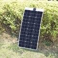 BOGUANG Гибкая солнечная панель 80 Вт монокристаллическая 18 в солнечная батарея панели placa Солнечная 12 в зарядное устройство Размер 1040*500 мм
