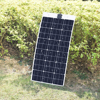 BOGUANG Flexible Solar Panel 80W Monocrystalline 18V Solar power battery panels placa solar 12v charger size 1040*500mm