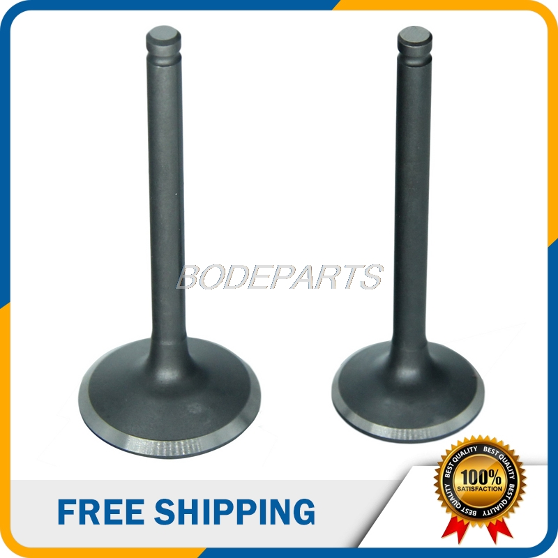 GT-112 Motorcycle Parts Accessories Cylinder Head Intake And Exhaust Valve For <font><b>Lifan</b></font> 125cc <font><b>150cc</b></font> <font><b>Engines</b></font> Free Shipping image