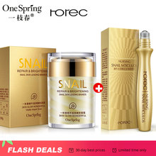 OneSping Snail Cream Snail Eye Cream whitening cream korean face care products aloe vera gel Anti Wrinkle rorec moisturizer care