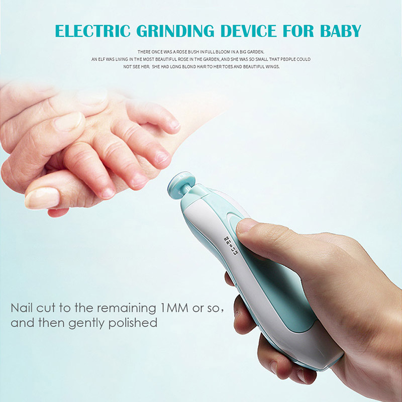 2018 Baby Care Accessories Baby Automatic Electric Nail Trimmer Portable Multi-function Electric Manicure Set Nail Device