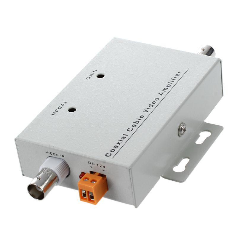 5 Packs BNC Coaxial CCTV Vidéo Balun Amplificateur pour CCTV Caméra