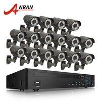 ANRAN 5.0MP 16CH H.265 NVR Системы CCTV Системы 5MP варифокальный сети видеонаблюдения Открытый ИК Сеть IP POE Камера комплект