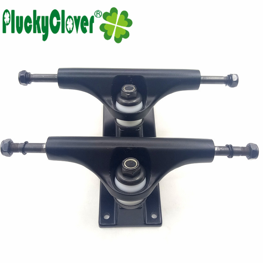 2pc 5 Inch Skateboard Truck Aluminium Magnesium Alloy Cruiser Longboard Bridge 5'' Penny Board Rocker Truck with Solid Baseplate