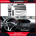 For mercedes e class w212 car styling carbon fiber material interior design decoration automotive car parts 2014 2015