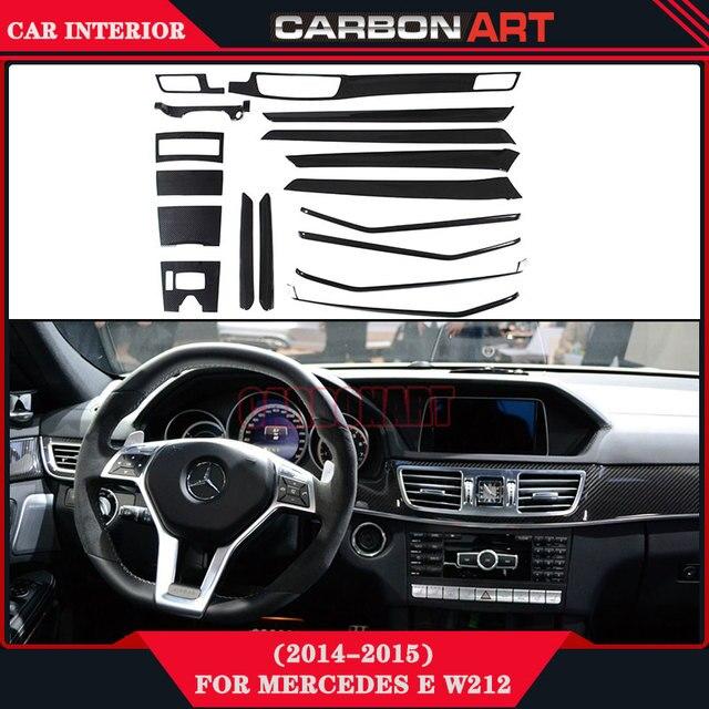 Koolstofvezel Interieur Voor Mercedes E Klasse W212 Auto Styling ...