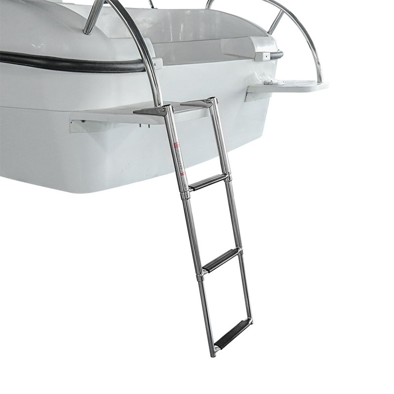 Automobiles & Motorcycles ... Other Veh. Parts & Access. ... 32634457541 ... 3 ... 3 Step Stainless Steel Telescoping Marine Boat Ladder Swim Step Over Platform ...