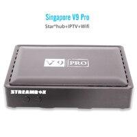 Latest V9 PRO Set Top Box For Starhub Tv Box HD Channels Blackbox Singapore Cable Tv