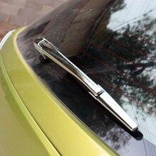 Для Suzuki Vitara 2016 2017 2018 укладка обрезать ABS chrome заднего стекла Щетка Насадка Крышка Хвост оконная рама лампа 3 шт.