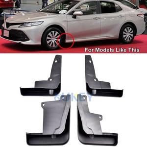 Image 2 - Front Rear Car Mud Flap For Toyota Camry 2018 2019 LE XLE Daihatsu Altis Mudflaps Splash Guards Mud Flap Mudguards Fender