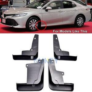 Image 2 - Voor Achter Auto Modder Flap Voor Toyota Camry 2018 2019 Le Xle Daihatsu Altis Spatlappen Splash Guards Mud Flap Spatborden spatbord