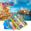 1000 PCS Wooden Puzzle Jigsaw Puzzle 24 PCS Venice Scenery Kids DIY Fun Children Educational Toy