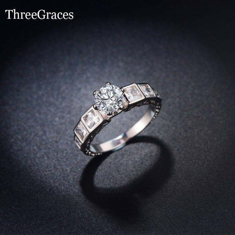 royal design luxury 15 carat cubic zirconia stone 925 sterling silver wedding anniversary engagement ring for - Wedding Anniversary Rings