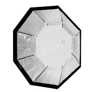 "Image 5 - Godox Pro 95 cm 37 ""Octagon siatki o strukturze plastra miodu Bowens Mount Softbox reflektor Softbox do Studio Strobe Flash Light"