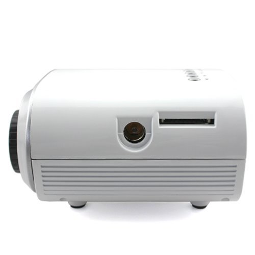 Fashion New LCD Home Cinema Theater Multimedia Projector HD 1080P USB HDMI VGA TV PC AV H60W