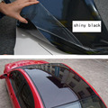 1.35x15meter shiny Black Panoramic Sunroof Vinyl Car Sticker with air free bubbles Decoration DIY easy decal