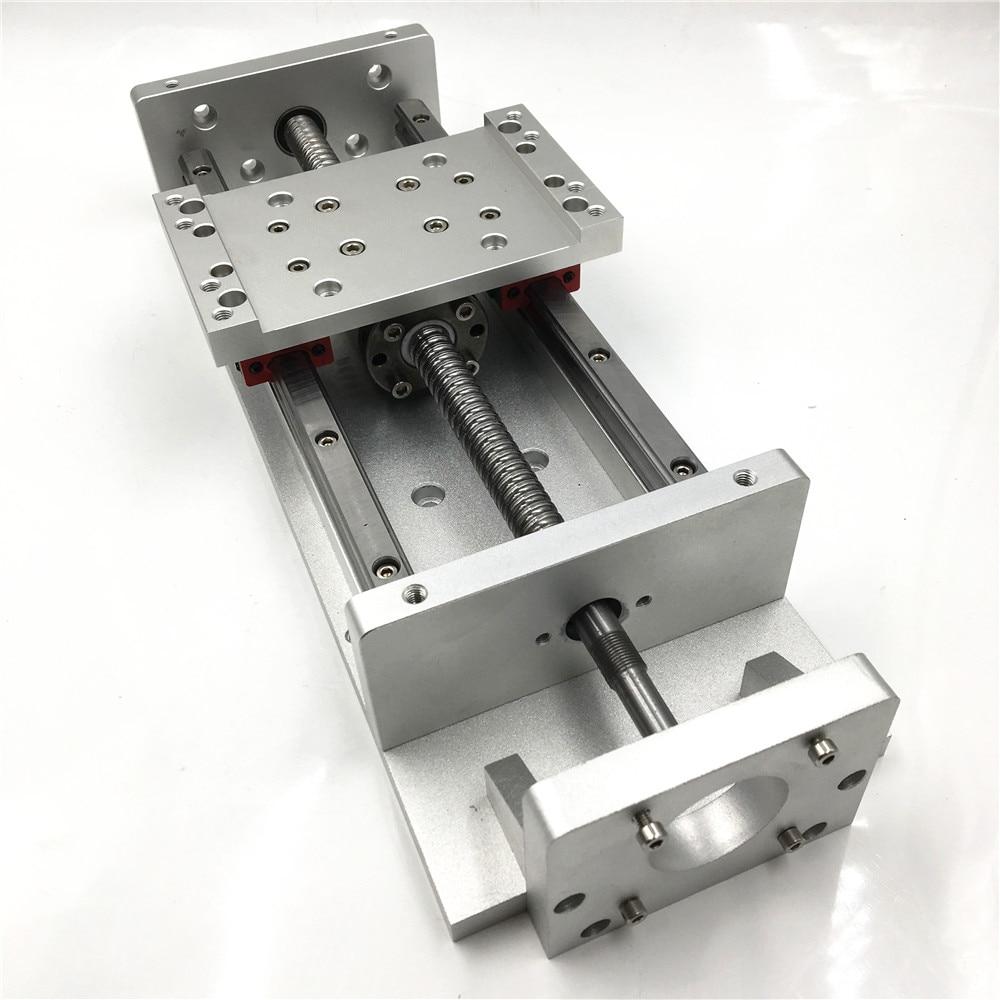 New Linear Stage Actuator L700mm Stroke CNC Sliding Table SFU1605 Ballscrew Cross Slide Square Rail Working Table TH20-57-700