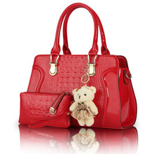 2017 New Women Messenger Bags Womens Composite Handbag Ladies Tote Bags Crossbody Bag Wallet Purse 2