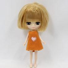 ICY Neo Blythe Doll Brown Bob Hair Regular Body 10cm