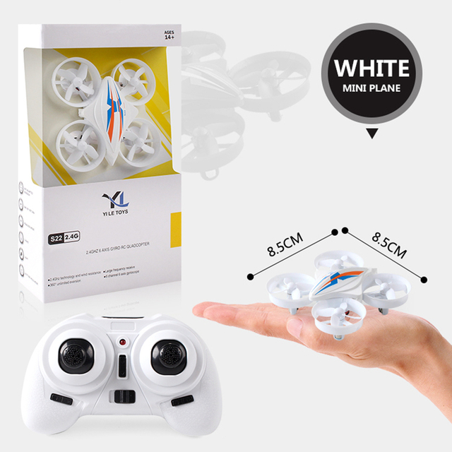 RC Mini Drone Dron Quadcopter Remote control Quadrocopter RC Helicopter 2.4G 6 Axis Gyro Drones with Headless Mode VS H36 E010 1