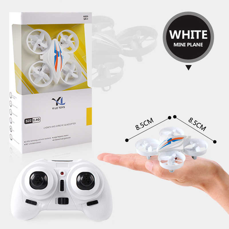 RC Mini Drone Drone Quadcopter Remote Control Quadrocopter RC Helikopter 2.4G 6 Axis Gyro Drone dengan Headless Modus VS h36 E010
