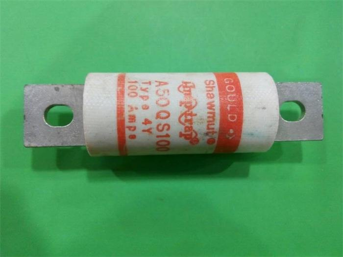 Free shipping 5pcs A50QS100 GOULD Shawmut French Roland fuse 500V 100A 4Y genuine free shipping 1pcs lot din43620 imported fuse tube nh000 500v fuse body 100a 120ka eti