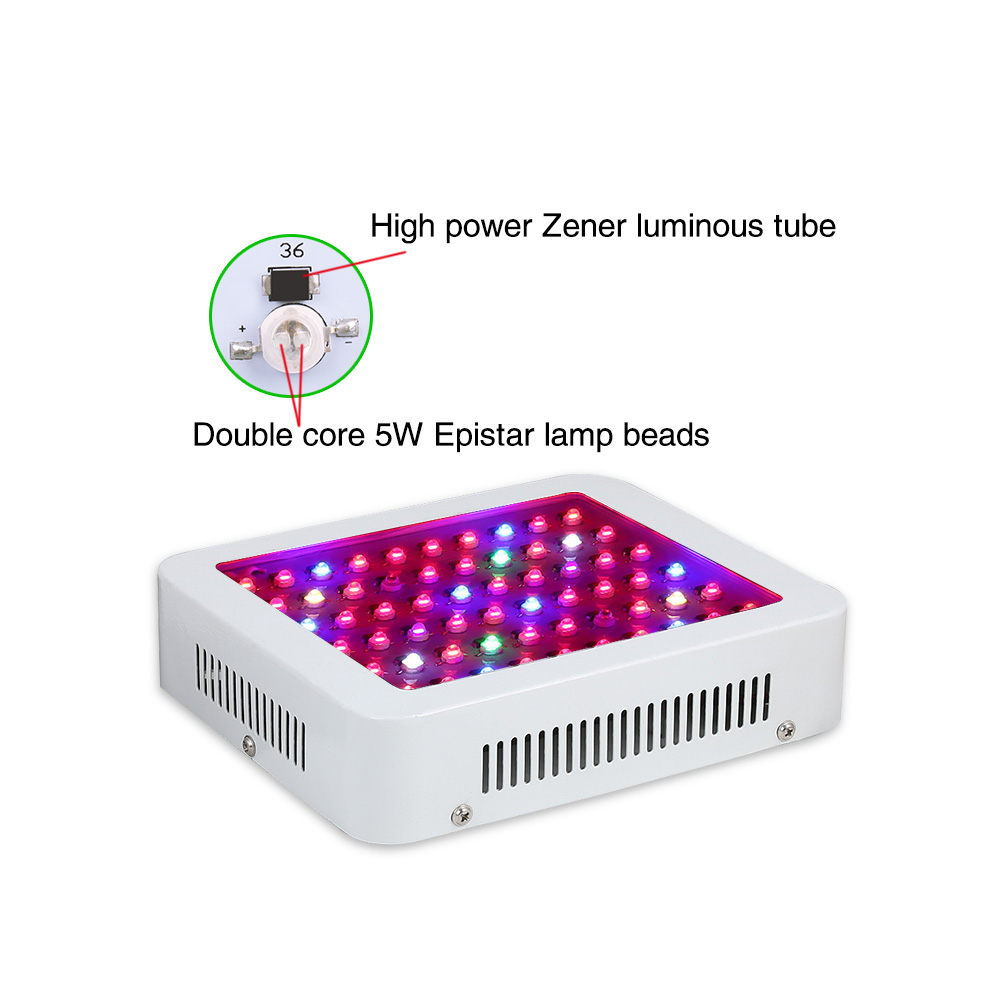 60X5W Panel Fill light 5W chips Protection diode 8 band Low noise and long life Promote photosynthesis Increase production пылесос daewoo rgj 220s