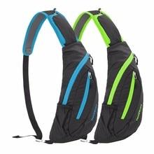 Outdoor Sport Shoulder Bag Women/Men Waterproof Nylon Crossbody Sling Bag Cycling Hiking Climbing Messenger Bag