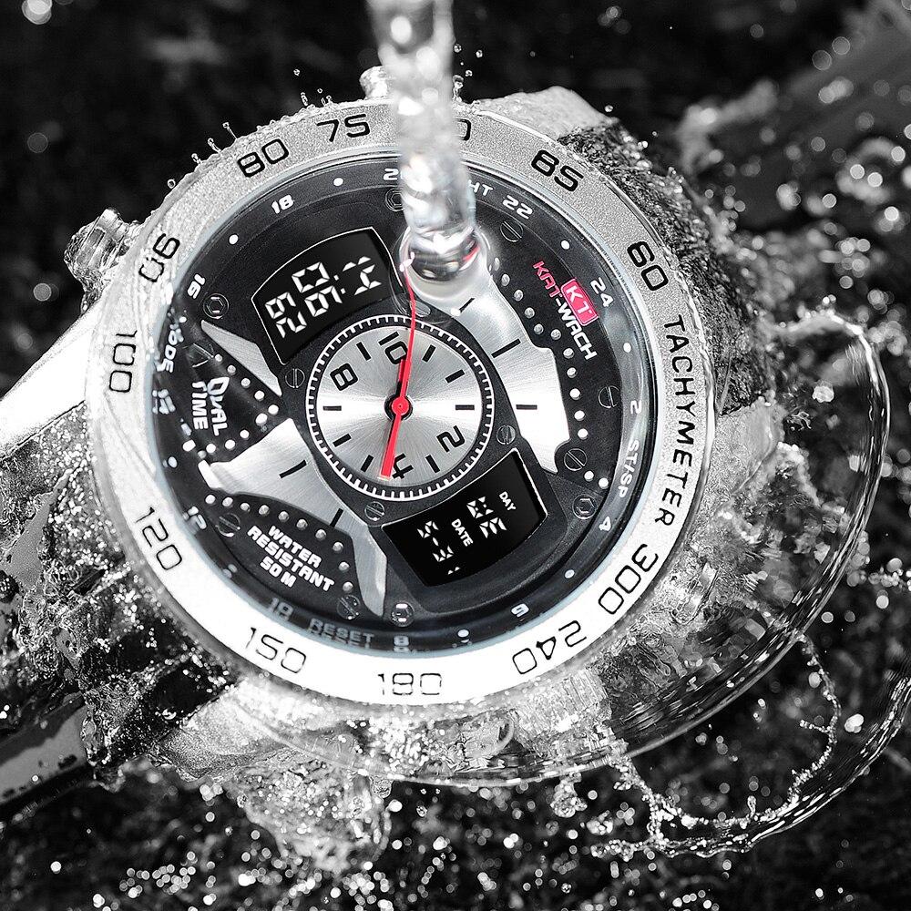 Elektronik Mens Sport Shock Uhren Digital Led Military Uhr Wasserdicht 50 Mt Multifunktionale Schwimmen Outdoor Armbanduhr Spezieller Kauf