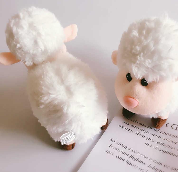1 pçs kawaii pelúcia brinquedo de ovelha recheado dos desenhos animados cordeiro alpaca bonecas macio dormir brinquedos presente aniversário para o bebê criança crianças
