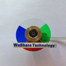Projector Colour Color Wheel Model For PD125  Replacement Color Wheel New