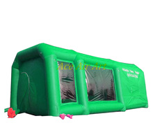 For Outdoor and Indoor from Factory Hot Selling Portable inflatable spray booth / Inflatable Spray Paint Car Tent