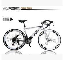 21 Speed Mountain Bike Bicycle 26 Cargon Steel Double Mechanical Disc Braking 26 inch Mountain Bike 21 Speed Mountain Bicycle
