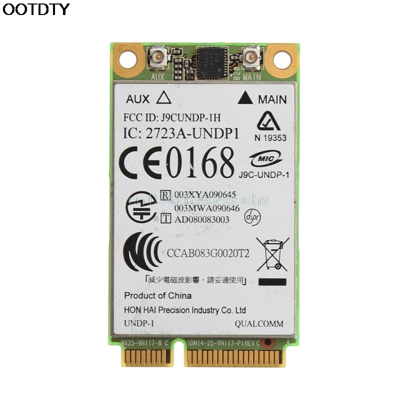 UN2400 EV-DO UMTS HSDPA WWAN Module 483377-002 3G Wireless PCI-E Card For HP ## New Hot