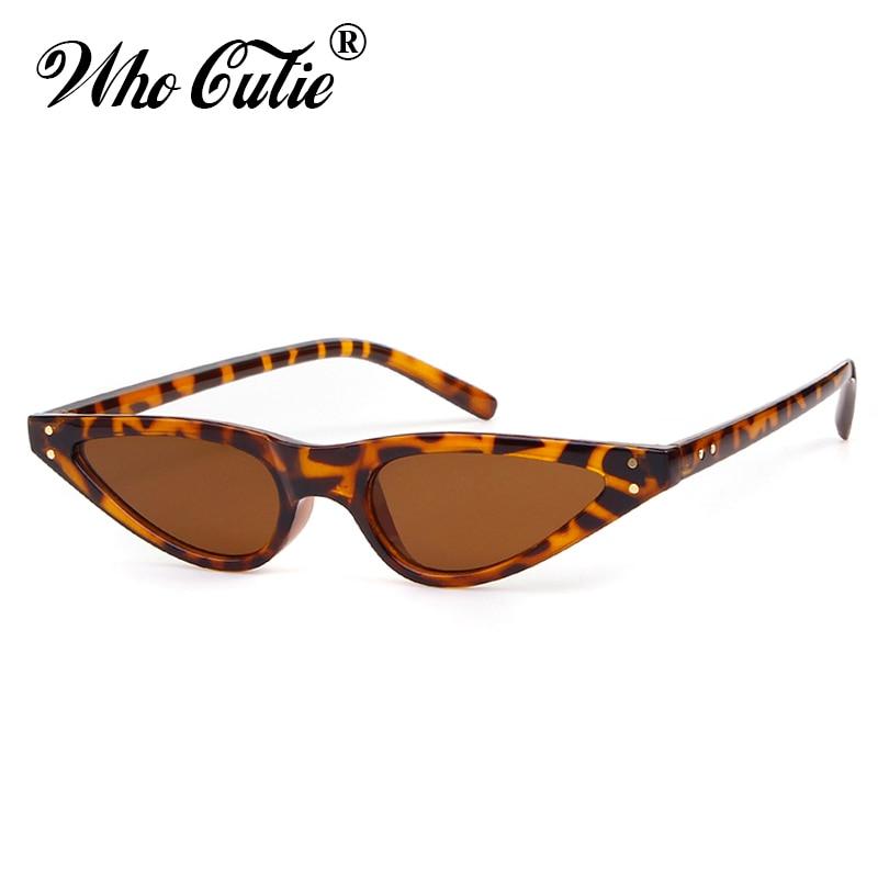 Metallrahmen Sonnenbrille Cat Eye Dreieck Sonnenbrille Frauen Vintage