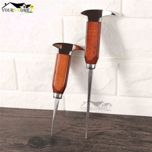 17.5/24cm Ice Pick Crusher Crushed Stainless Steel Ice Chisel Ice Removal Ice Barware Bartender Tools Bar Accessories Barware 304 stainless steel ice pick with wooden handle cocktail ice crusher metal pick bar chisel household kitchen bar tool