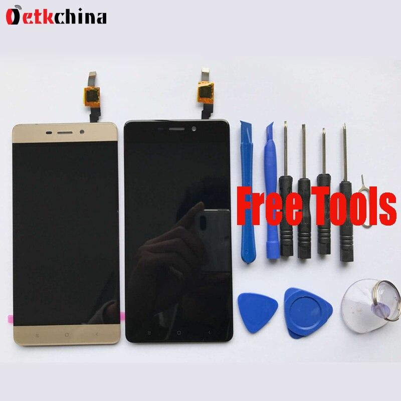 imágenes para Para Xiaomi Redmi 4 LCD Display + Touch Screen Asamblea Digitalizador Reemplazo de la Reparación Para 5.0 pulgadas Redmi 4 Envío Gratis + herramientas