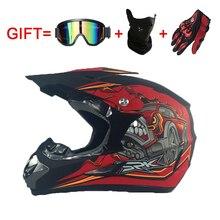 Motorcycle Helmets Motocross Dirt Bike Racing Off Road Helmet Breathable Motorbike Mask with Adjustable Lock Buckle S M L XL